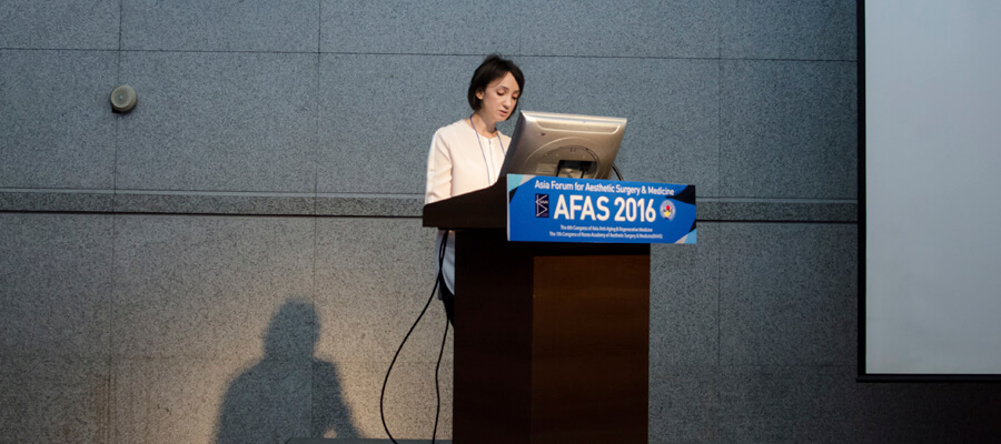 AFAS 2016 — INTERNATIONAL MEETING OF Asia Forum for Aesthetiv Surgery & Medicine, Seoul, Korea
